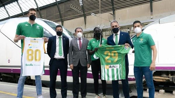 Renfe se convierte en transporte oficial del Betis