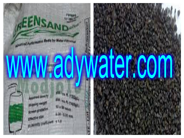 Alat Pembersih Air | Manganese Greensand Plus