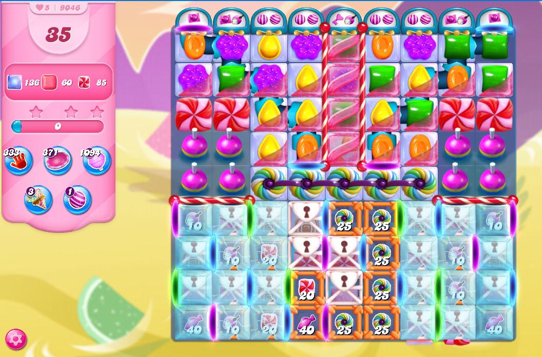 Candy Crush Saga level 9046