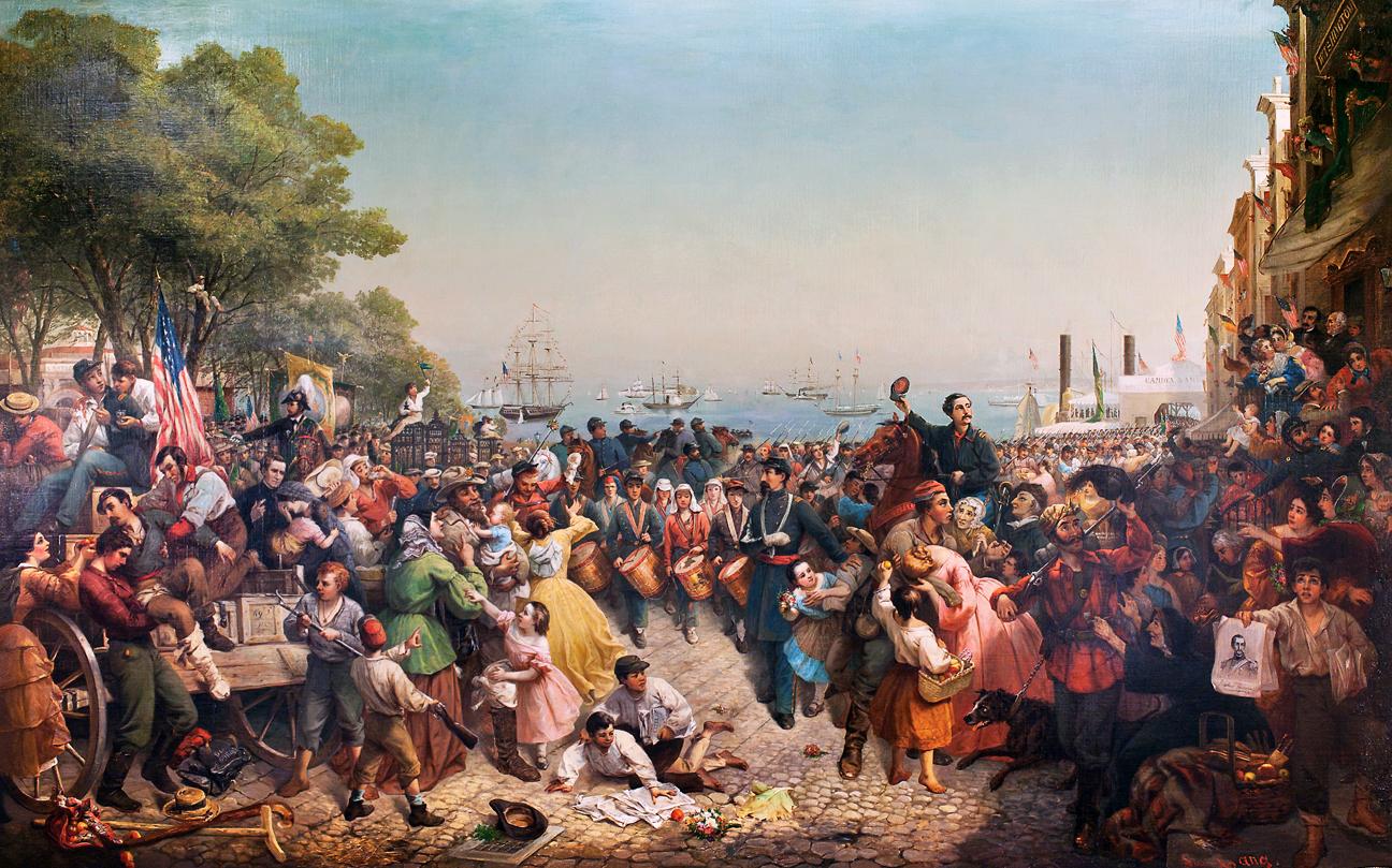 Victory-or-Death-COPY-960x500.jpg | American civil war ... |American Civil War Battle Paintings