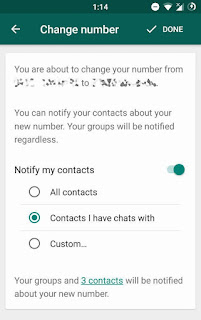 Checkout New Improvements Added to WhatsApp Change Number Feature