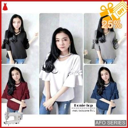 AFO177 Model Fashion Bonie Top Modis Murah BMGShop