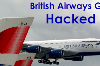 British Airways Suffered Data Breach, 380,000 Users Data Affected