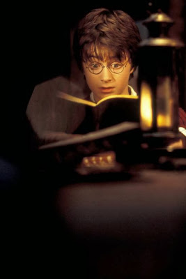 harry potter reading tom riddle's diary