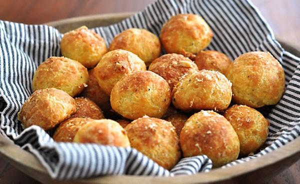 Bánh gougères Pháp