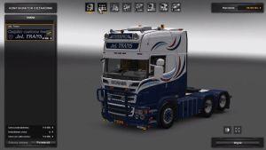 Truck - Scania R560 J&L Trans