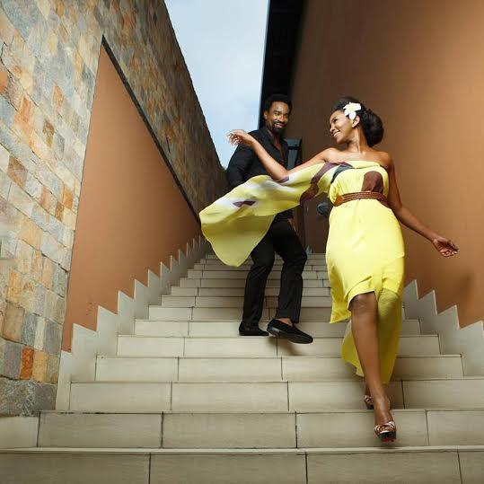 Genevieve Nnaji and Oris Erhuero