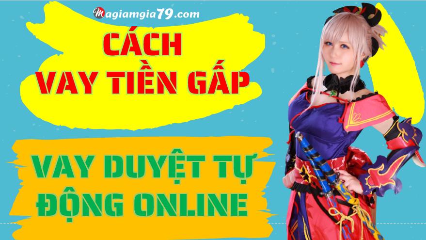 vay tiền gấp online cash24