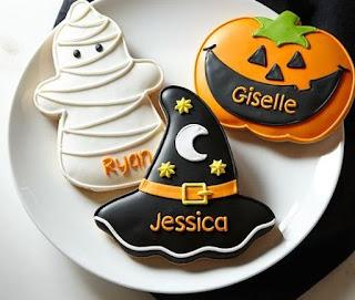 Halloween, Galletas Crujientes