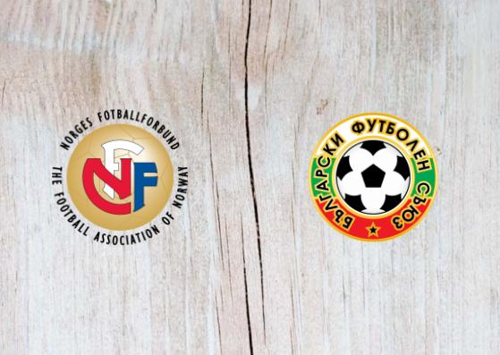 Norway vs Bulgaria - Highlights 16 October 2018