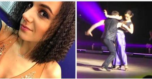 DALS la tournée : Alizée blessée au visage sur scène