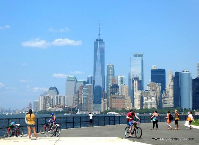 visitar Governors Island, plan diferente en Nueva York