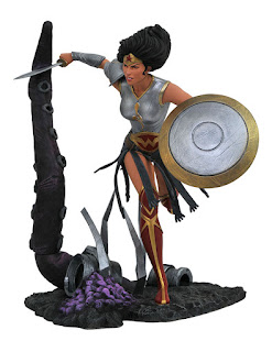Diamond Select DC COMIC GALLERY METAL WONDER WOMAN PVC DIORAMA 001