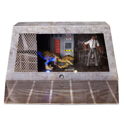 San Diego Comic-Con 2021 Exclusive Jurassic Park Final Scene Ray Arnold Action Figure Box Set by Mattel
