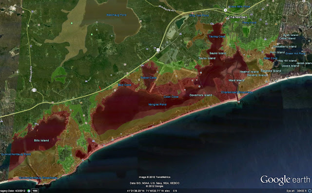 Image result for Charlestown RI flood maps