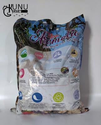 Review Pasir Gumpal Kucing Merk New Aromatic