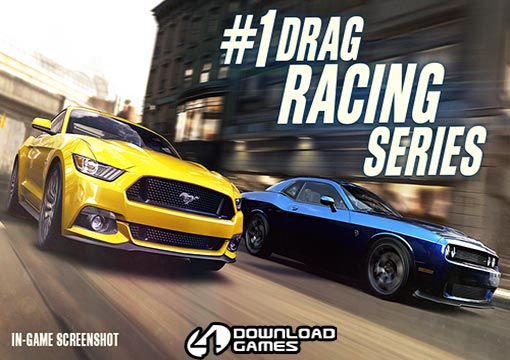 لعبة سيارات السباق CSR Racing 2 للموبايل والتابلت