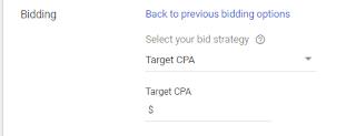 Target CPA