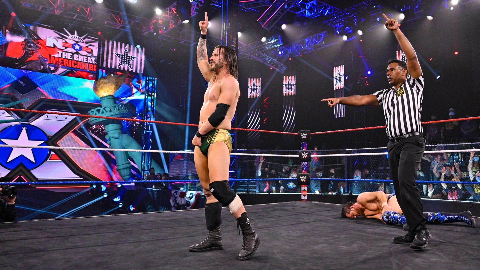 WWE planejando luta final entre Adam Cole e Kyle O'Reilly