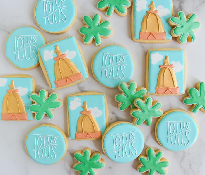 totus tuus cookies: Notre Dame music ministry group