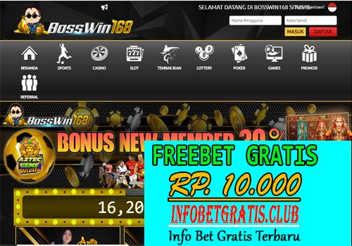 BossWin168 Freebet