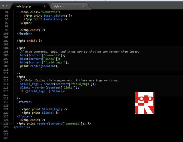kode node tpl
