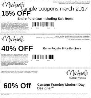 Discount coupons march