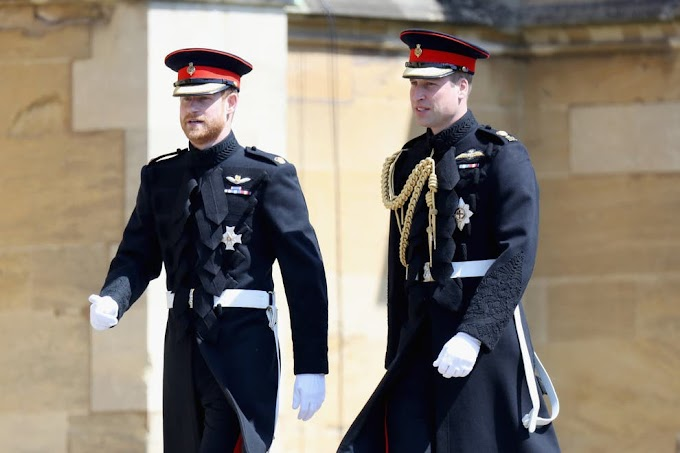 Princes William and Harry to walk behind Philip's coffin with pregnant Meghan Markle to miss the funeral on Saturday