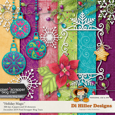 December Blog Train Freebie