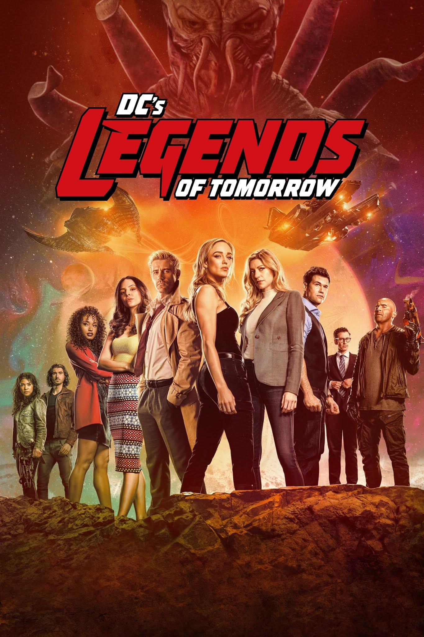 DC's Legends of Tomorrow (2021) Temporada 06 AMZN Web-DL 1080p Latino