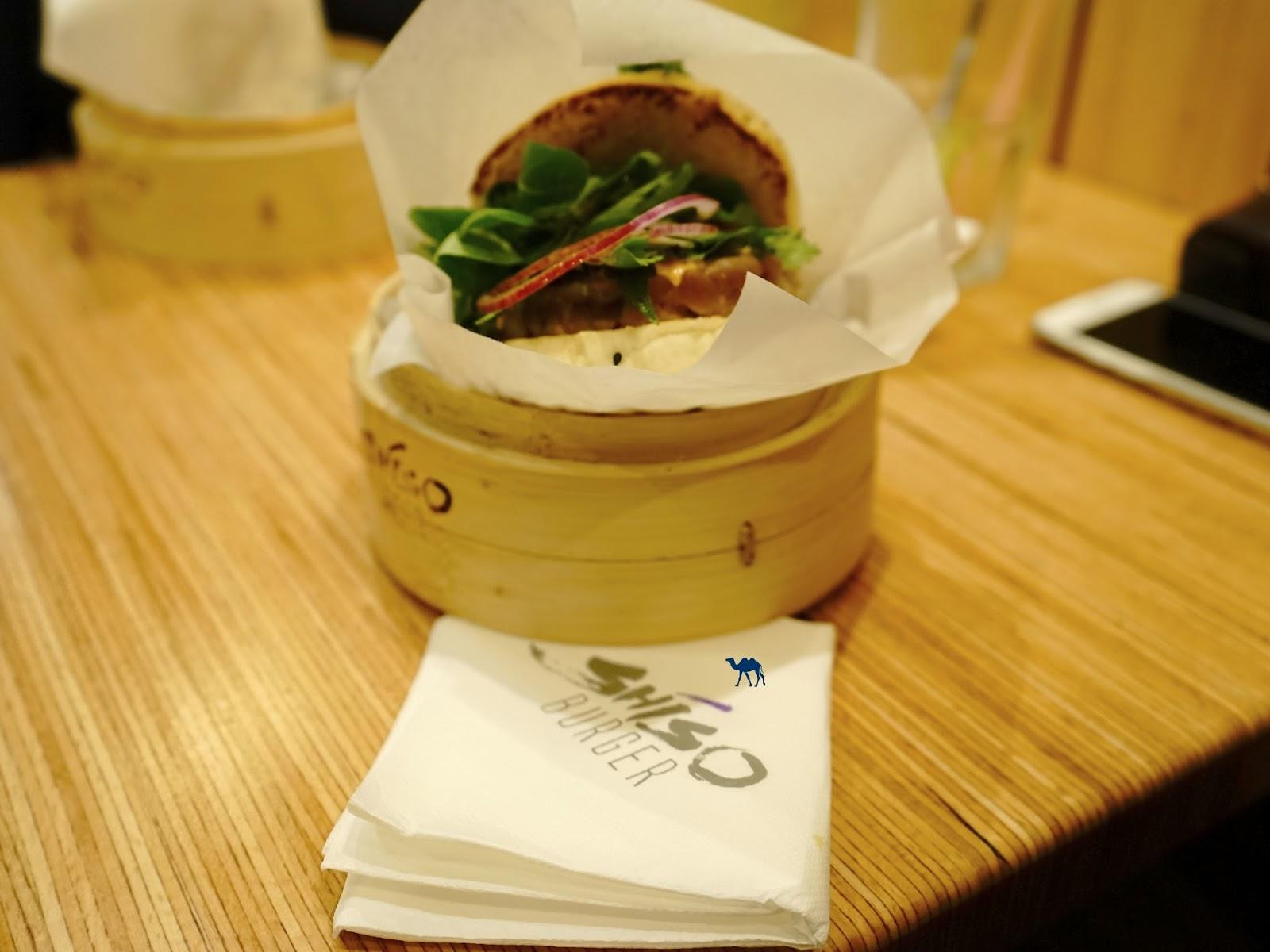 Le Chameau Bleu - Shiso Burger