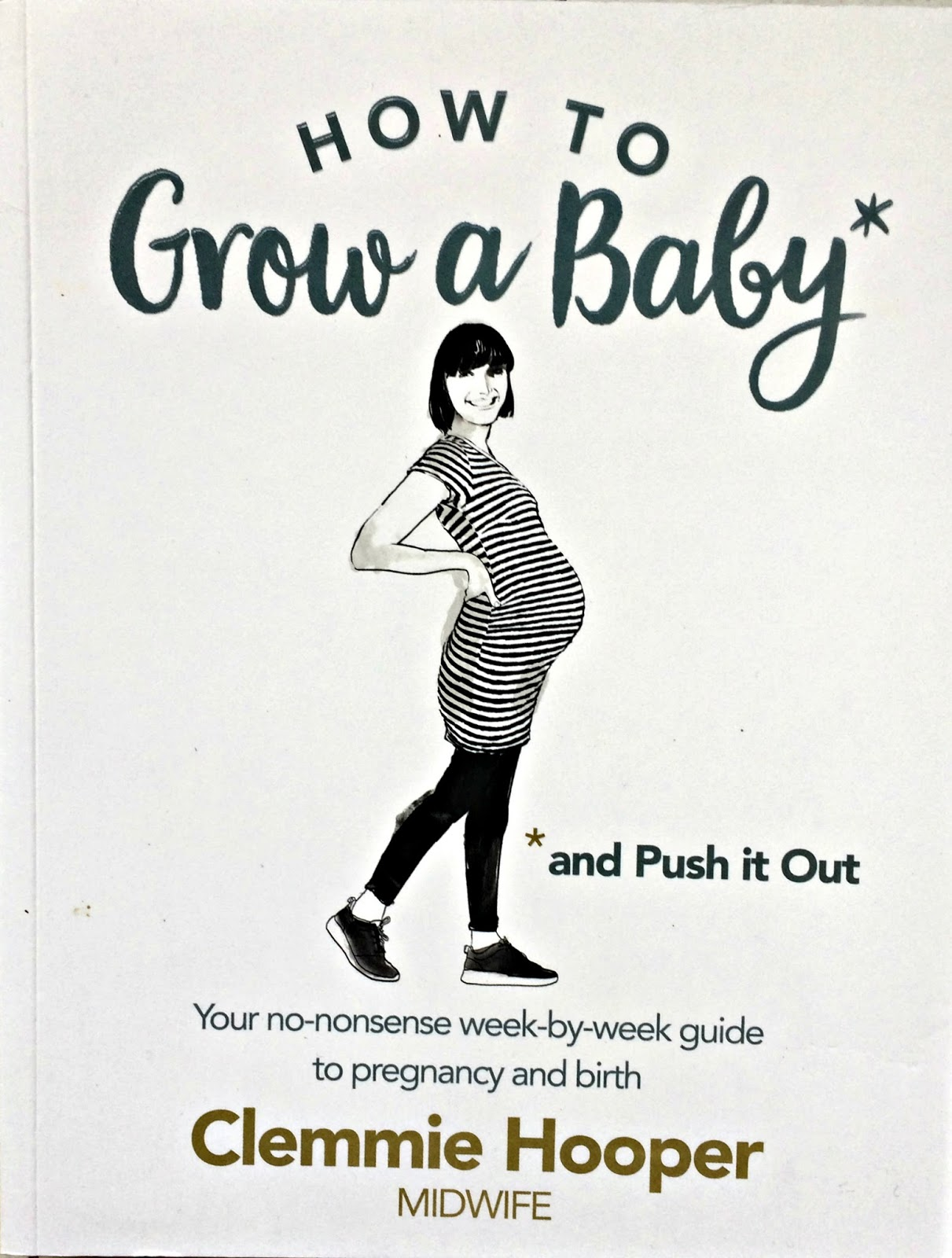 How To Grow A Baby & Push It Out By Clemmie Hooper book front cover