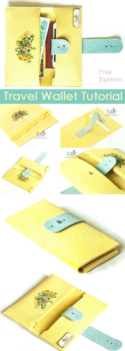 Travel Document Holder Tutorial