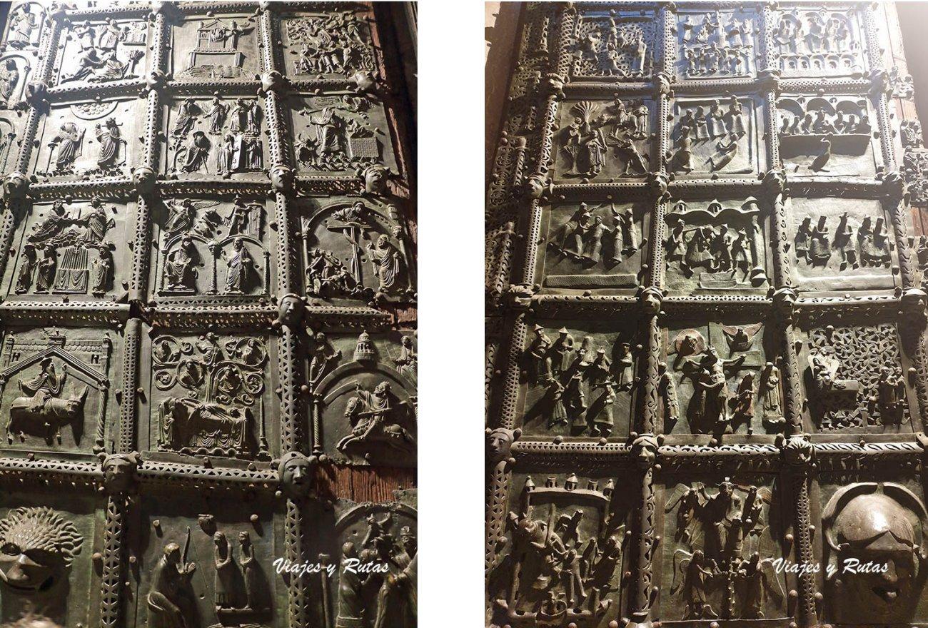 Puerta de Bronce de la Basílica de San Zeno de Verona