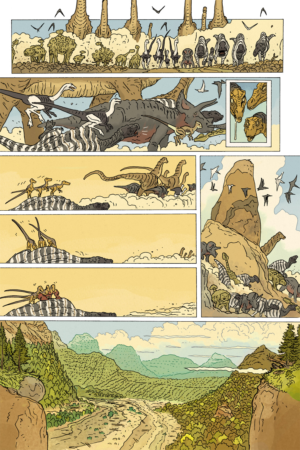 Age of Reptiles Omnibus Chap 10 - Next Chap 11
