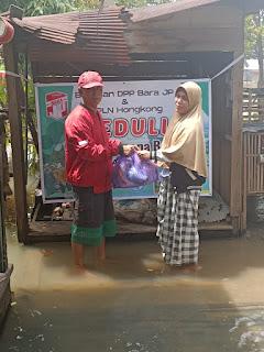 Bara JP Galang Dana Guna Membantu Masyarakat Tertimpa Berbagai  Musibah Di Daerah