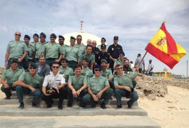 نواذيبو : انتقاد لتواجد الحرس المدني الإسباني ( Guardia civil )  بشواطئ المدينة ../ رأي