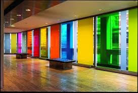 Colored Glass Doors