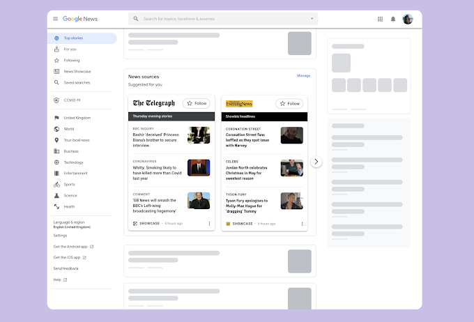 Did you know Google Is Stepping Up Its Game and Launching Its News Showcase on The Desktop as Well