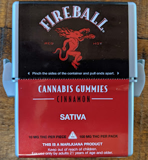 Fireball Cannabis Gummies