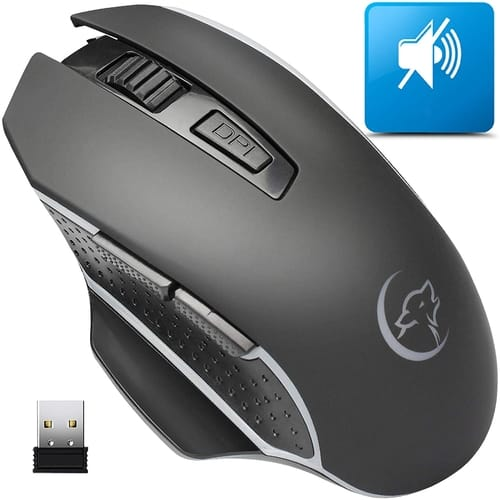 Review AREYTECO Durable Silent Wireless Mouse