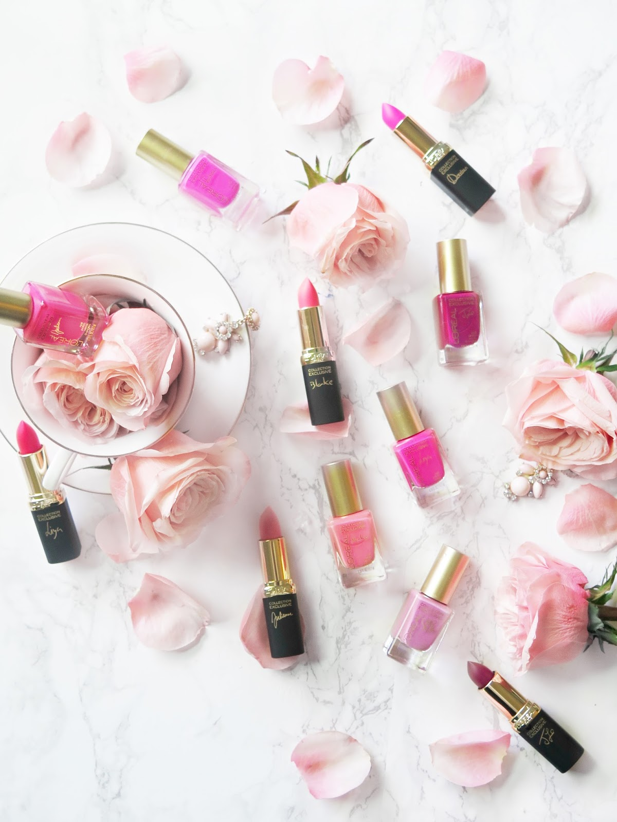 La Vie En Rose | L'oreal's Signature Collection Goes Pink With A Limited Edition Release | Review & Swatches | labellesirene.ca