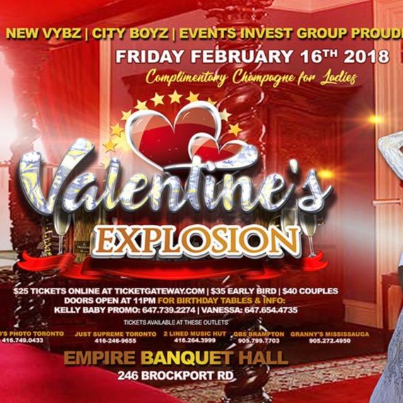C.A. Confidential: Valentine's Day Explosion @ Empire