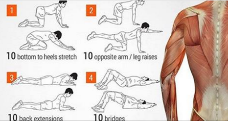 5 Minutes Daily of This Exercise and Your Back Will Be Healthy All Your Life