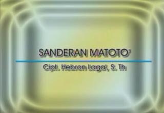 Sanderan Matoto' (Trio Bambana Sion)