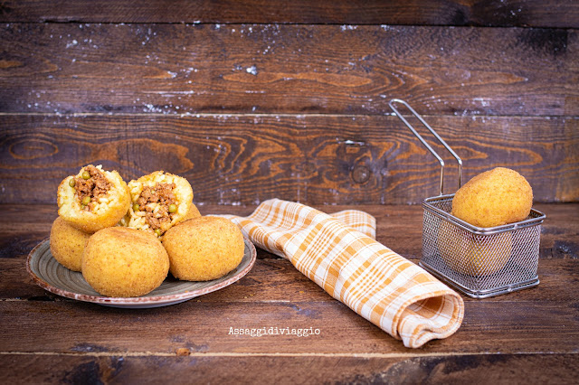 Arancini siciliani al ragù di carne