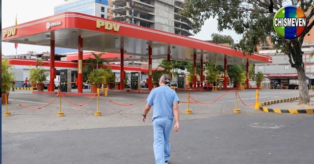 Vuelve a acabarse la Gasolina en Caracas y esta vez va para largo