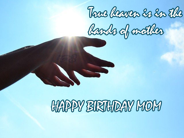 happy birthday to my mom in heaven images