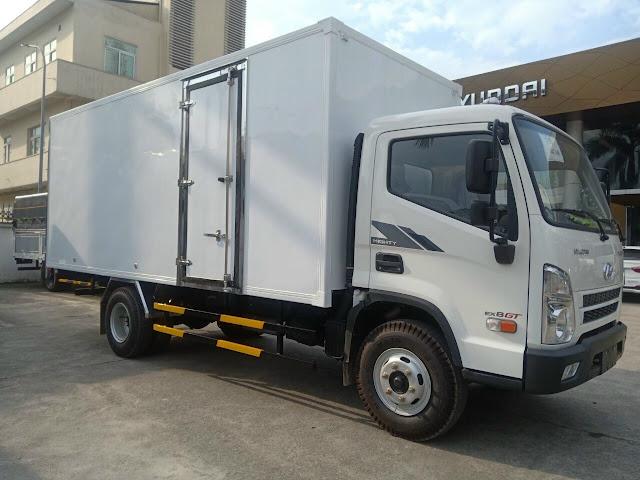 Hyundai EX8 GTS2 thùng kín bảo ôn