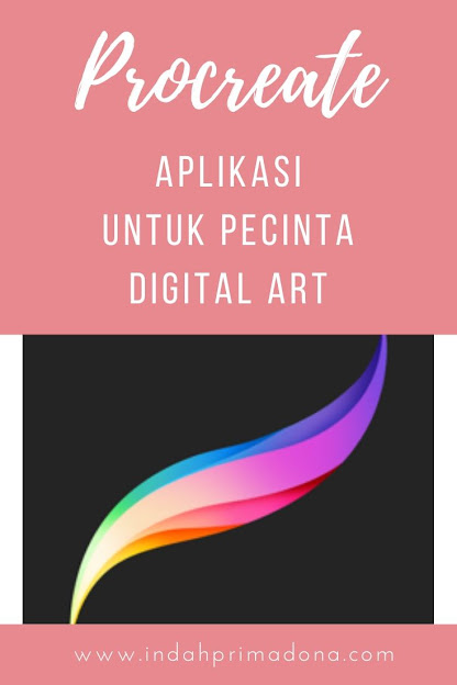 aplikasi procreate, aplikasi digital art, membuat digital art dengan procreate, procreate aplikasi untuk pecinta digital art, pecinta digital art